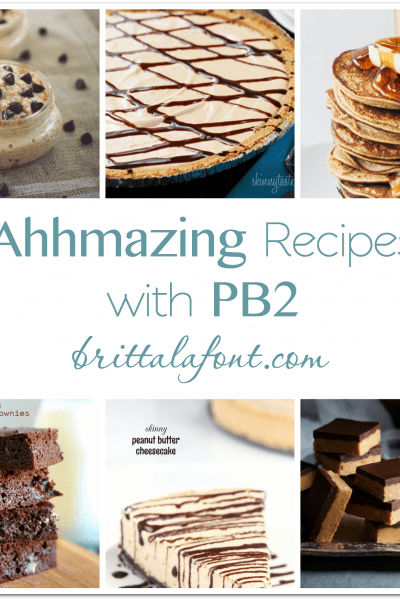Loving Life: PB2 Recipes!