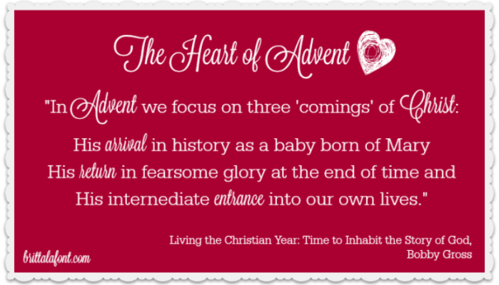 The Heart of Advent