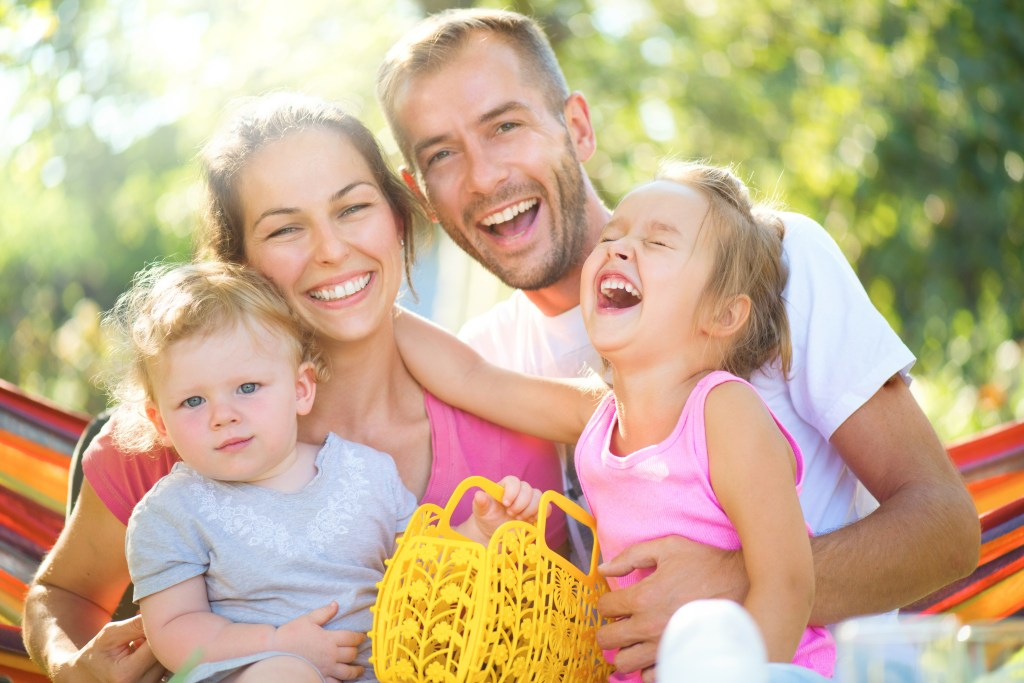 Picture of a happy family to illustrate the benefits of Family Therapy in Houston TX. Brittani Persha Counseling is in the Memorial Area near Katy, TX 77079