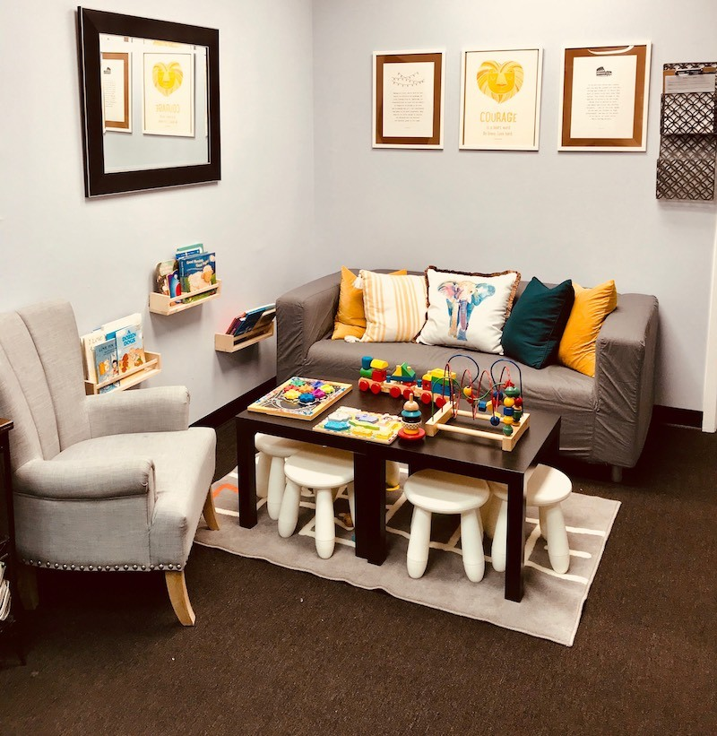 play therapy waiting room