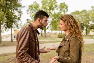 Picture of a high conflict couple arguing to illustrate the need for effective couples counseling to help save a marriage. Brittani Persha Counseling in Houston, TX.