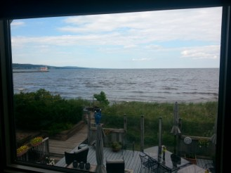 our B n B right on Lake Superior
