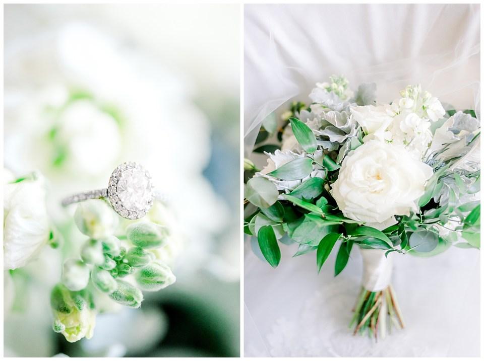 plantation wedding day bouquet