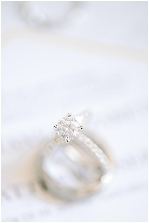 macro engagement ring