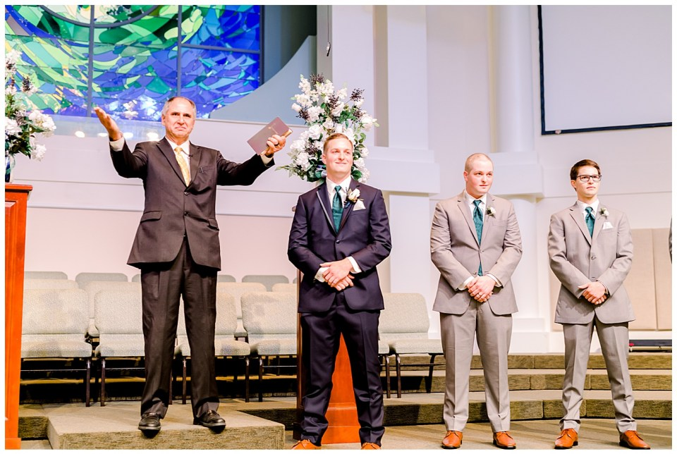 wedding at live oak methodist church in denham springs la