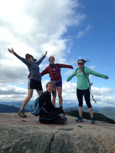 summiting Mt. Chocorua
