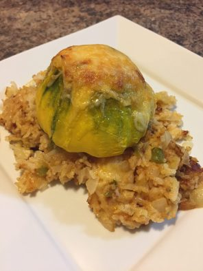 Step-by-Step: Stuffed Squash (August 27, 2017)