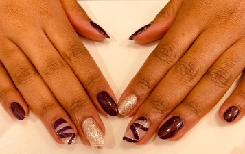 PurpleBDayNails