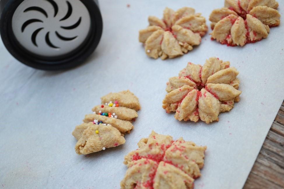 Holiday Recipe Redux Spritz Cookies