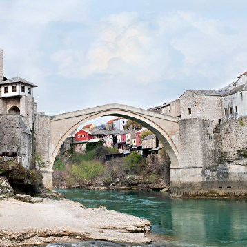 Mostar, Bosnia with the Children!