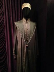 Dumbledore's robe in Madam Malkins.