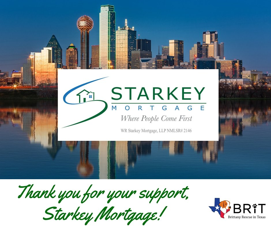 Thank you Starkey Mortgage
