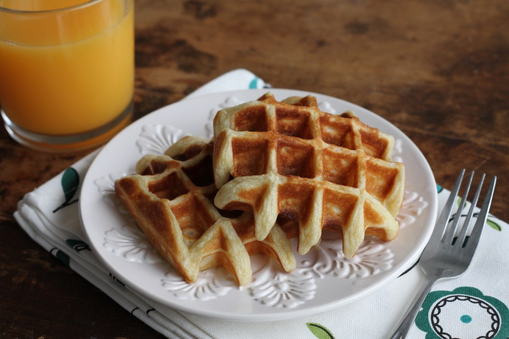 Honey Waffles-So light and fluffy you won't believe it! {Brittany's Pantry}