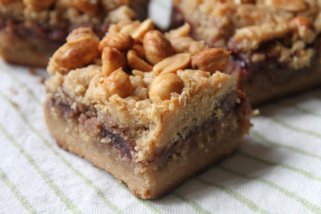 Peanut Butter And Jelly Bars | Brittany's Pantry