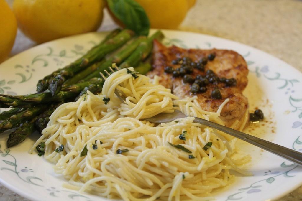 Lemon Spaghetti | Brittany's Pantry