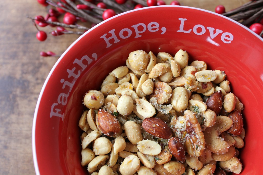 TWO recipes for Sweet & Savory Mixed Nuts! Great for the Holidays or any time of year! {Brittany's Pantry}