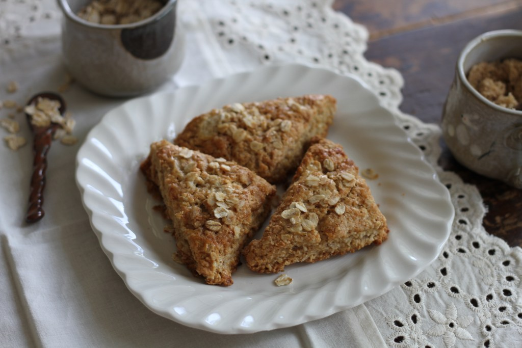 Oatmeal & Brown Sugar Scones