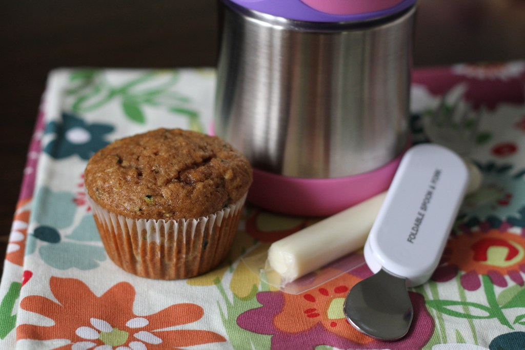 Whole Wheat Zucchini Spice Muffins