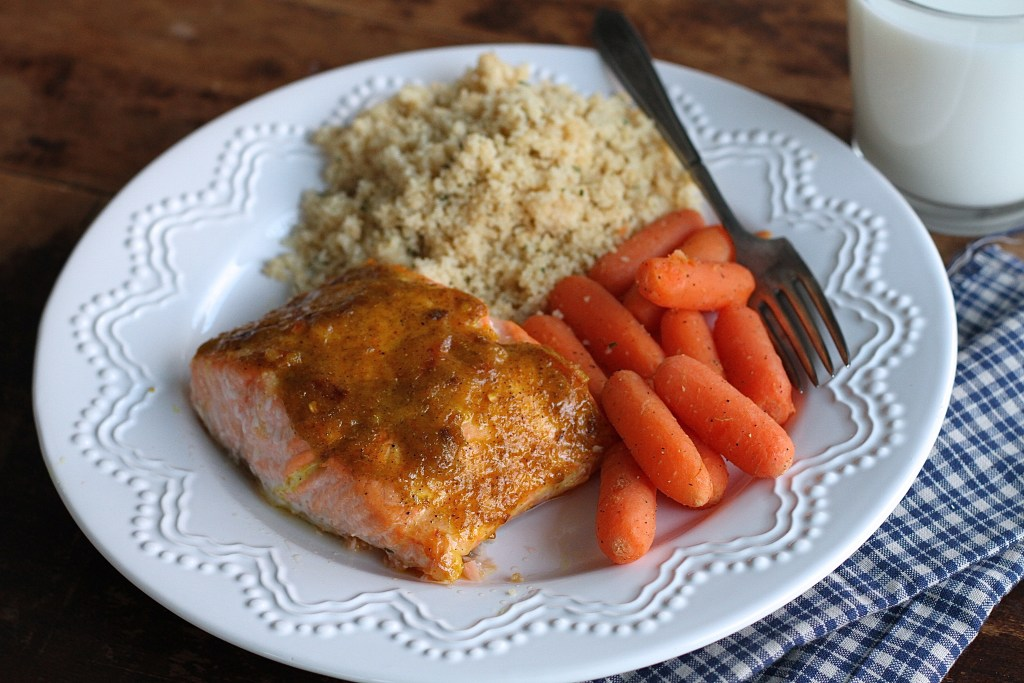 Sweet Curry Salmon
