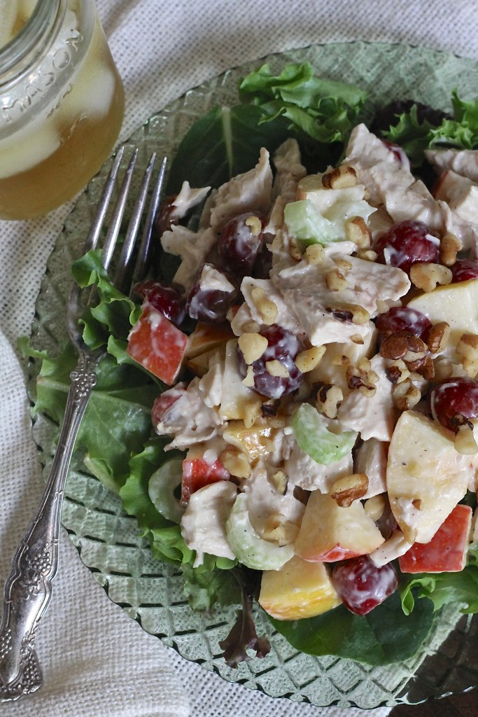 Roast Chicken Waldorf Salad | Brittany's Pantry