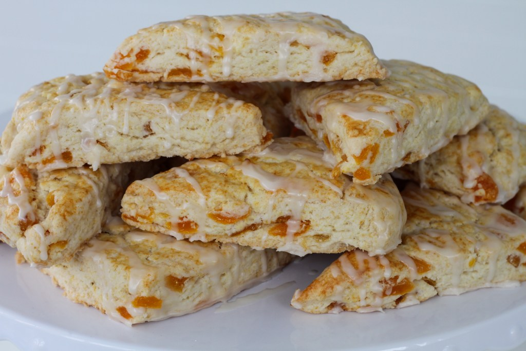 Sweet Apricot Scones | Brittany's Pantry
