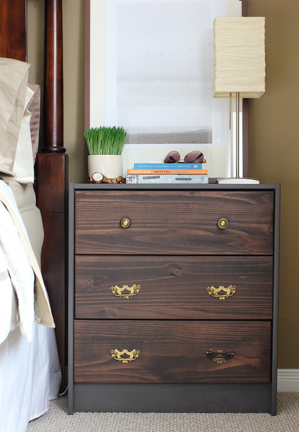 Ikea Rast Nightstand Hack Brittany Stager