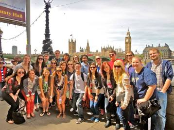 Southbank tour group