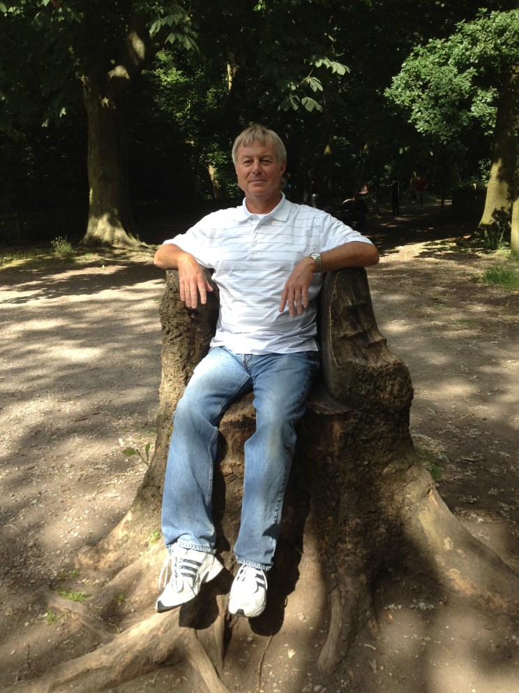 dad in Holland Park