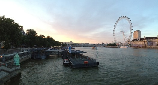 London Eye and the River Thames