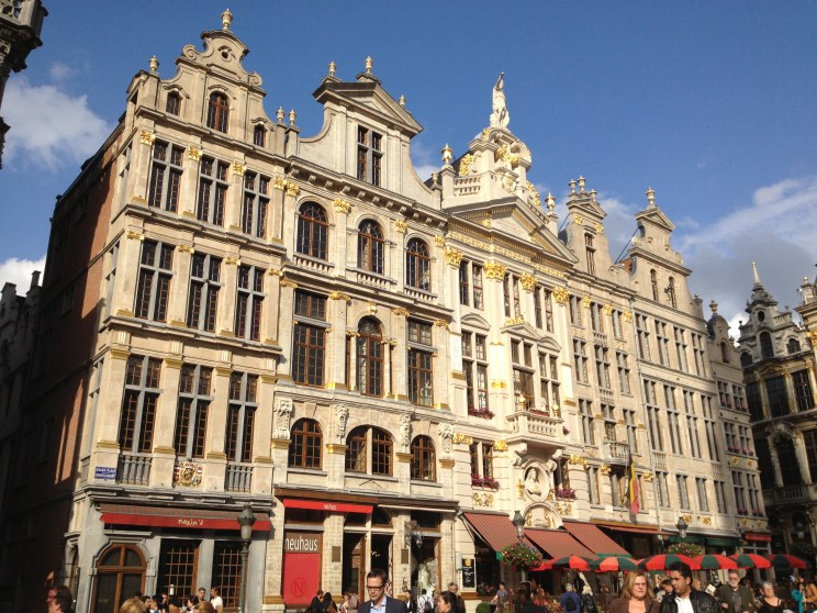 building in the Grand Place