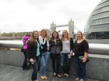 in front of Tower Bridge