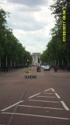 The Mall looking towards Buckingham Palace