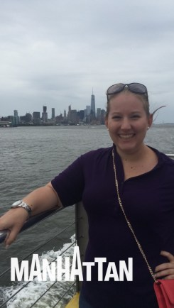 me in front of Manhattan