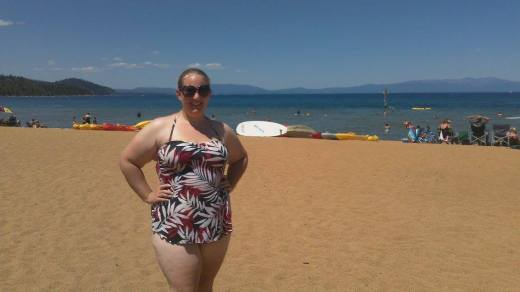 me at Lake Tahoe