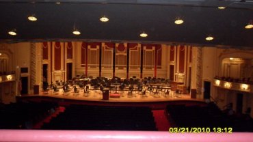stage at Heinz Hall