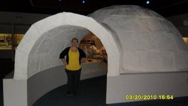 me in an igloo
