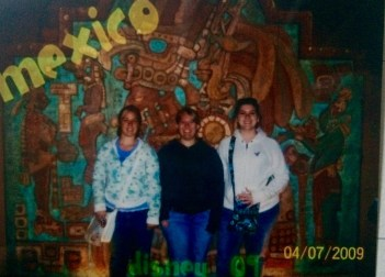 Taylor, Sam, and I in Mexico