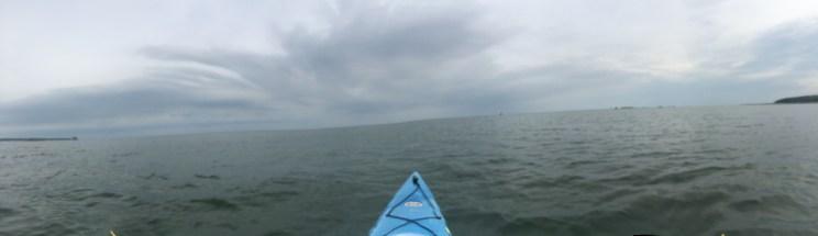 kayaking on Lake Huron