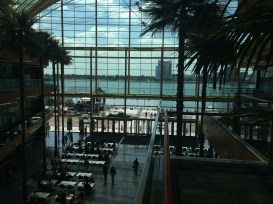 Wintergarden from the inside