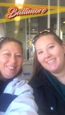mom and I on the light rail