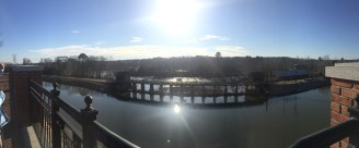 Columbia Canal and the Congaree River