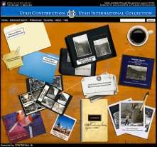 Design, CSS and HTML for WSU's Stewart Library.
