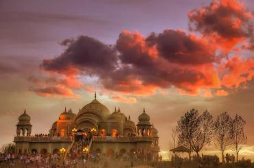 Lotus Temple - Sri Sri Radha Krishna