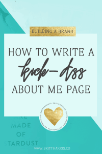 How To Write A Kick-Ass About Me Page