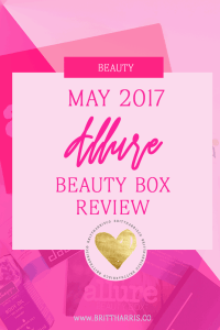 May 2017 Allure Beauty Box Review