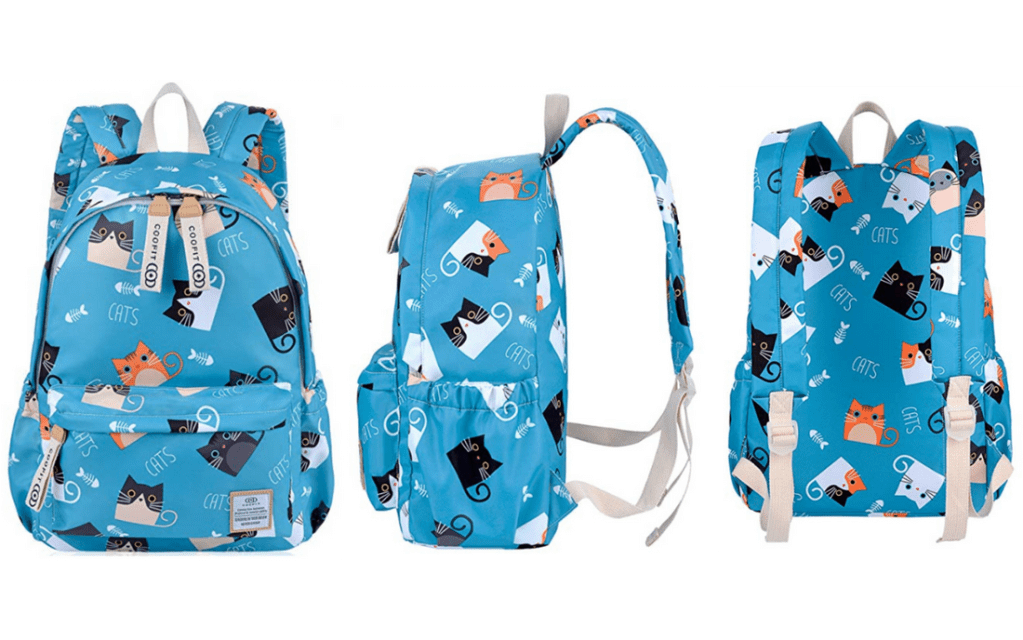 Cute Cate COOFIT Back-to-School Backpack