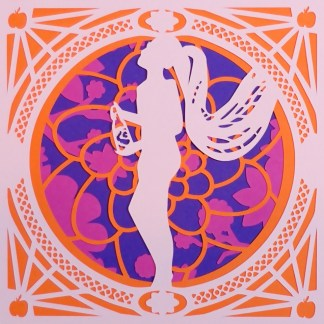 Burlesque Paper Cuts Constance Peach