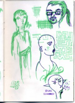 Sketchbook 2015 2016