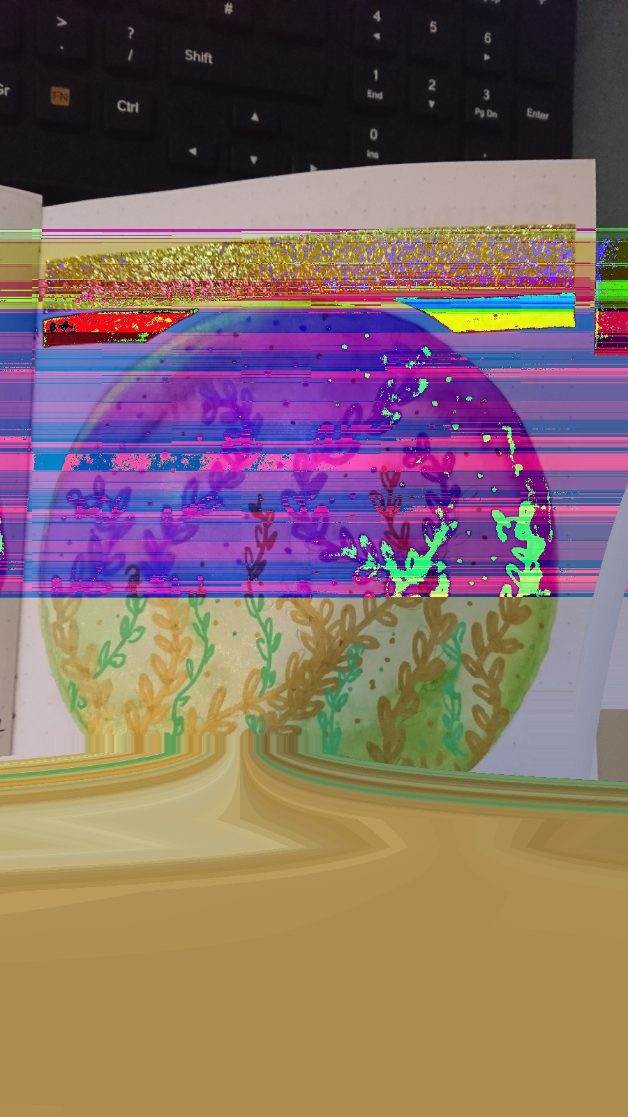 Not Your Sketchbook Either glitch art