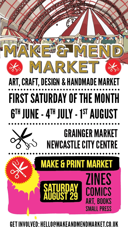 Make & Mend Market 2020 Magazine Ad - these events were sadly cancelled